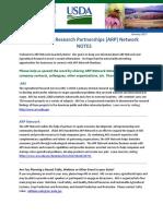 ARP Network Notes Jan 2017