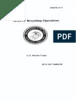 Fmfm13-07 (1995) - Magtf Breaching Ops