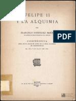 FelipeII Y La Alquimia