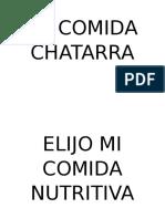 La Comida Chatarra