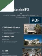 internship presentation