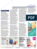 Pharmacy Daily for Tue 31 Jan 2017 - Ulipristal S3 from tomorrow, Student entrepreneur competition, KAPS registration open, Guild Update and much more