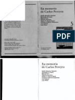 Homenaje a Pereyra