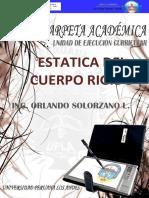 Orlando Solorzano Torpoco Estatica Del Cuerpo Rigido-Ing. Orlando Solorzano