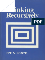 Thinking Recursively