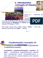 Principles of Rheology