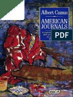 Camus, Albert - American Journals (Abacus, 1990)