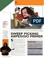 Sweep Picking Arpeggio