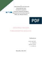 geodesia marina