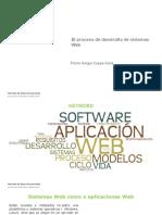El Proceso de Desarrollo de Sistemas Web