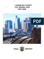 2007-2008 Los Angeles County Civil Grand Jury, Final Report, June  2008