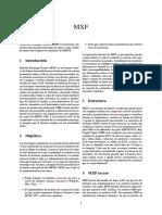 Archivos MXF-información