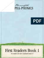 Alpha-Phonics Readers Vol 1 (Sample)