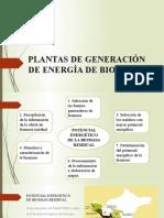 Plantas de Generación de Energía de Biomas