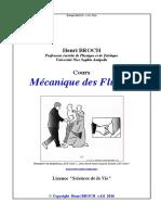 Pr.H.brocH Mecanique Des Fluides