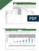 Calculo de Los Costos Por Actividad y Costo Total Del Proyecto