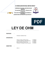 Lley de Ohm mñn