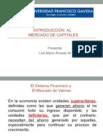 El Sistema Financiero y El Mercado de Valores