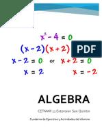 Cuadernillo Algebra