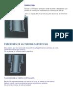 FUNCIONES DE LA TUBERÍA CONDUCTORA