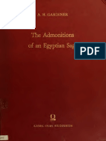 Admonitions of an Egyptian Sage.pdf