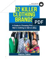 102 Killer Clothing Brands (PDF)