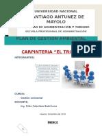 Plan de Gestion Ambiental Carp El Triunfo