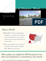 university of hawaii- west oahu by- summer chandler  2