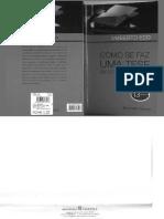 ECO, Umberto. Como se faz uma tese em ciências humanas.pdf