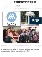 Adams Apprenticeship Manual 2017