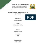 Informe Final de Antomia Ninfa Jimenez