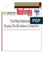 Tool Shop Optimization