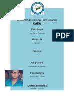 Propedeutico de español / Clase # 2