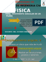 Movimiento Angular Fisica
