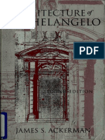The Architecture of Michelangelo (Chicago Press Art Book)