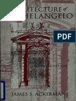 The Architecture of Michelangelo (Chicago Press Art Book)