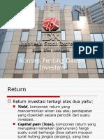 Wk 3. Konsep Penting Dalam Investasi