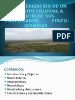 CARACTERIZACION DE UN DEPOSITO COLUVIAL A PARTIR DE (1).pptx