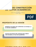 Construcción Textos 2a Sesión