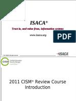 Cism - 2011 Overview