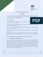 Declaracion sobre Cooperacion Antartica Chile Reino Unido 2017 - 2022