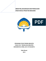 Buku Pedoman Pelaksanaan Penulisan Laporan KP Revisi 2012