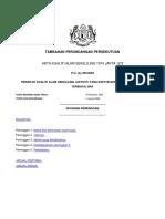 2. Perintah Kualiti Alam Sekeliling Aktiviti Yang Diisytiharkan Pembakaran Terbuka 2003 P.U.a 460 2003