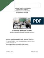 PLAN GENERAL DE PR+üCTICAS  2016