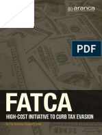 FATCA High Cost Initiative to Curb Tax Evasion