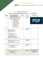 Dosificacion 2014b o.educativa i