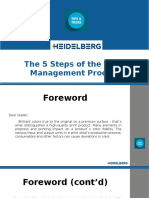 The 5 Steps of the Color Management Process