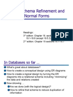 DB Design - Normal Forms