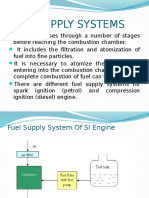 Fuel Supply Systems