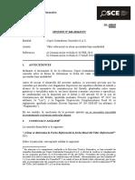 043-14 - COPER CONTRATISTAS GRLES. - Valor Referencial en Obras Ejecutadas Bajo Modalidad